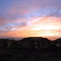 I just took this photo and had to share it. Kailua-Kona Sunset, Hawaii