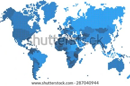 Map square to circle stock vector round edge square shape world map vector illustration 287040944 gumiabroncs Gallery