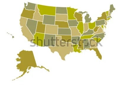 united states map stock photos, images, & pictures