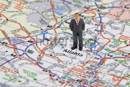 atlanta map stock photos, images, & pictures | shutterstock
