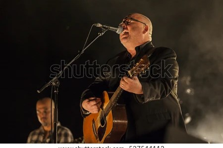 stock photo amsam the netherlands november black francis lead singer of the american 527544112