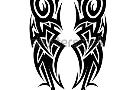 stock vector tattoo designs tattoo tribal vector designs art tribal tattoo 570787186