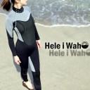 ウェットスーツ レディース 3mm ウエットスーツ HeleiWaho ウェット スーツ ウエット マリンウェア フルスーツ s m l サーフィン ダイ..