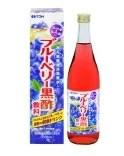 【ビネップル】井藤漢方製薬 ブルーベリー黒酢飲料 720ml【大変申し訳ございませんが、お一人様最大6点までとさせて頂きます。】