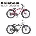 RAINBOW BEACHCRUISER/レインボービーチクルーザー GREASE 8段変速 26 x 3.5 グリース 自転車 26インチ SPADE BLACK スペードブラック ..