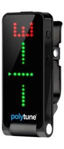 t.c.electronic Polytune Clip Black 新品 クリップチューナー[TCエレクトロニック][ポリチューン][ブラック,黒][ポリフォニックチュー..