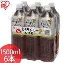 とうもろこしのひげ茶 1500ml×6本(シュリンクパック) アイリスオーヤマ [cpir]