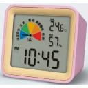 【ポイントバック祭中ポイント2倍】 熱中症指数計(卓上タイプ)Avert ピンク DH03-PK 壁にも掛けれる様に穴付き MONDO/モトデザイン
