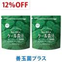 【12%OFF】キューサイ ケール青汁 善玉菌プラス 粉末タイプ(1袋420g入 約30日分)2袋まとめ買い