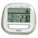 タニタ デジタル簡易熱中症指数計 TT-544-GD 温湿度計 電波時計機能付き 置時計 TANITA TT544GD 在庫限り