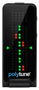 TC Electronic 《TCエレクトロニック》 POLYTUNE CLIP BLACK ※国内正規品