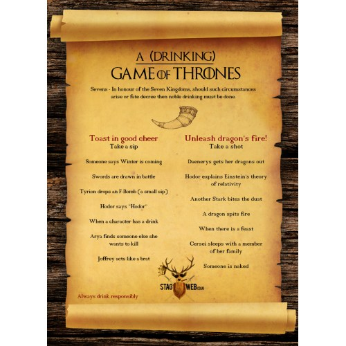 Medium Crop Of Game Of Thrones Drinking Game