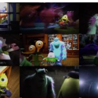 Download Monsters University (2013) 720p R6 HDCAM 650MB Ganool