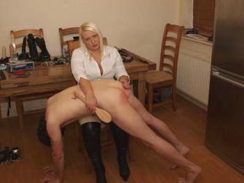 real life spankings otk hard
