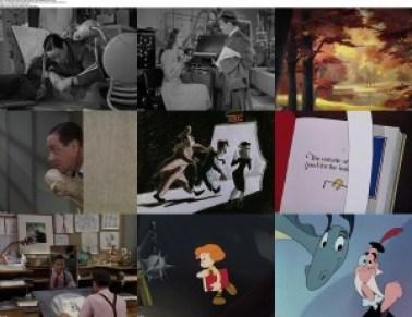 movie screenshot of The Reluctant Dragon fdmovie.com