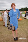 86516989260373 Karen Gillan attends the Veuve Clicquot Gold Cup  Final in Midhurst, UK, Jul 18, 2010