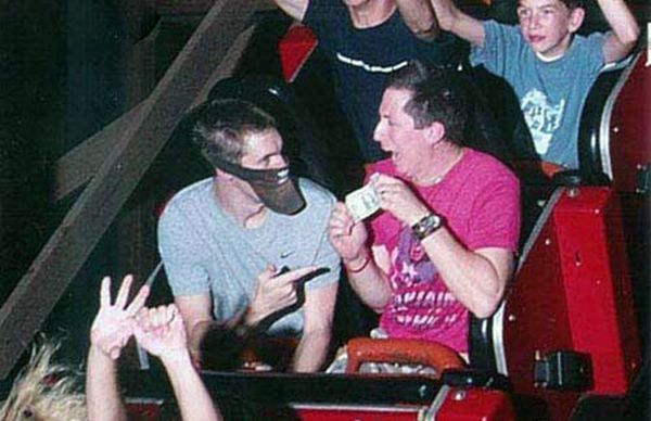 People From Roller Coasters ThumbPress 19 Winners and Losers from Roller Coasters (62 Pics)