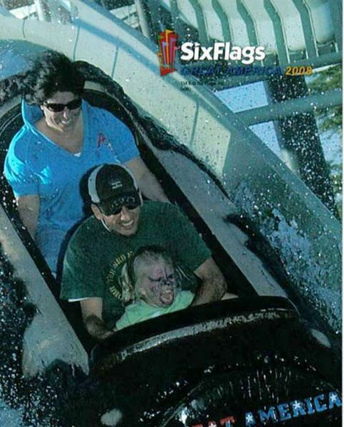 People From Roller Coasters ThumbPress 36 Winners and Losers from Roller Coasters (62 Pics)