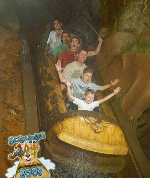 People From Roller Coasters ThumbPress 45 Winners and Losers from Roller Coasters (62 Pics)