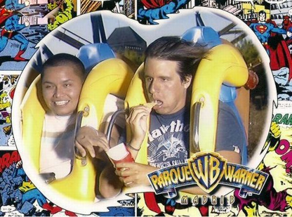 People From Roller Coasters ThumbPress 46 Winners and Losers from Roller Coasters (62 Pics)