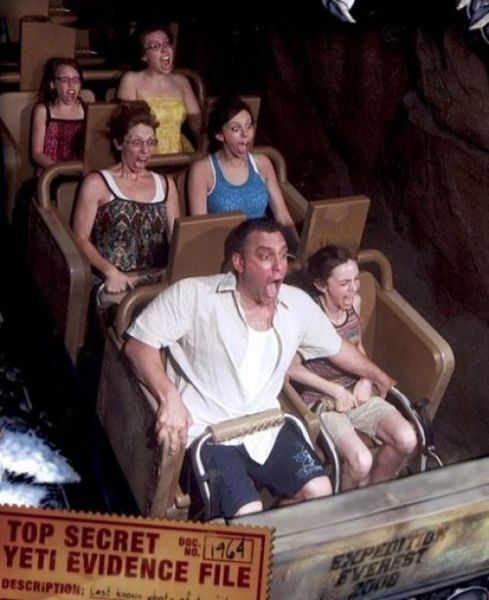 People From Roller Coasters ThumbPress 50 Winners and Losers from Roller Coasters (62 Pics)