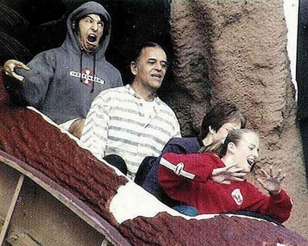 People From Roller Coasters ThumbPress 57 Winners and Losers from Roller Coasters (62 Pics)