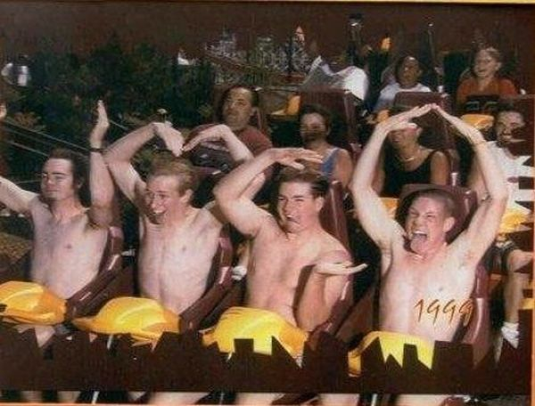 People From Roller Coasters ThumbPress 61 Winners and Losers from Roller Coasters (62 Pics)