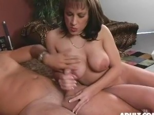 Cums on stepmoms tits all?