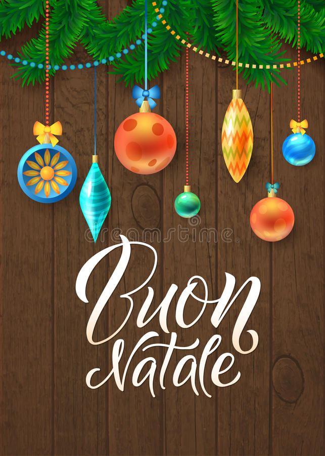 merry christmas and happy new year in italian cards