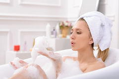 Image result for woman taking a bath