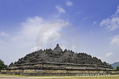 Budhas Temple Borobudur Yogyaka Full view of Buddhist Borobudur Temple in Yogyaka Indonesia 400x266