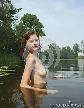 embarrassed nude female college