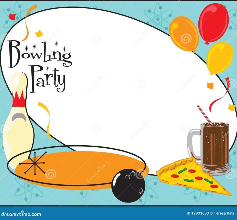 free bowling party invitation template | Invitationswedd.org