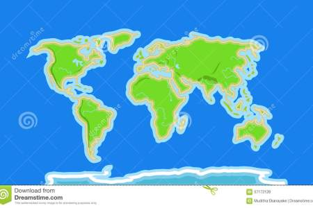 Map rivers world cartoon world map rivers mountains details sea like boats wave wale fishes 57172128 gumiabroncs Images