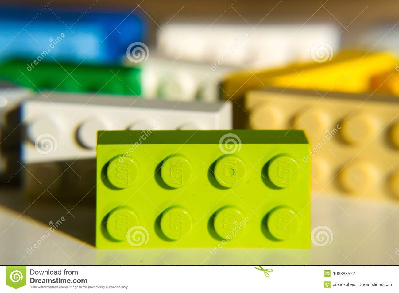 Colorful Lego Bricks By The Lego Group Isolated On White Background     Download Colorful Lego Bricks By The Lego Group Isolated On White  Background Editorial Photography   Image