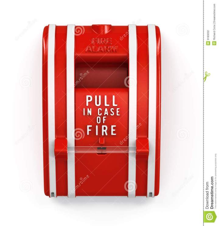 Fire Alarm Pull Station Symbol Giftsforsubs