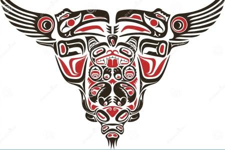 haida style tattoo design 19671104