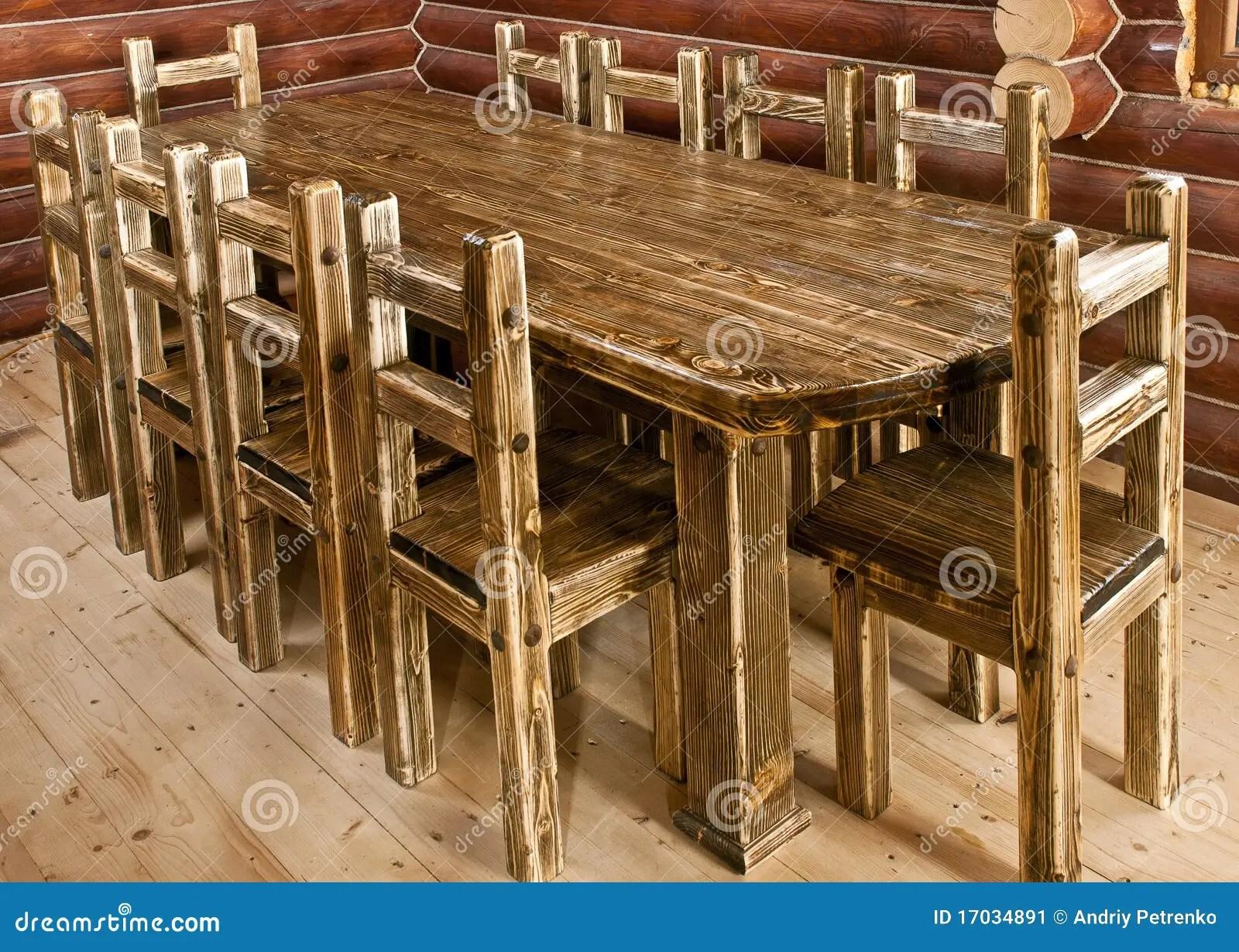stock image handmade large kitchen table image large kitchen tables Handmade large kitchen table