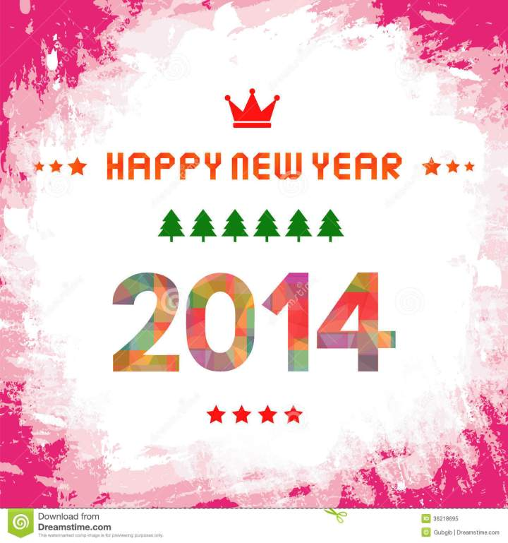 Royalty Free Stock Photo Happy New Year 2014 Card51.12 New Year 2014 Free Credit Cards Numbers 2014