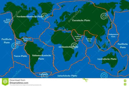 plate tectonics faultlines german world map fault lines major minor plates labeling vector illustration 71239536 16a673a881c918afcc61c87e7fdc9075