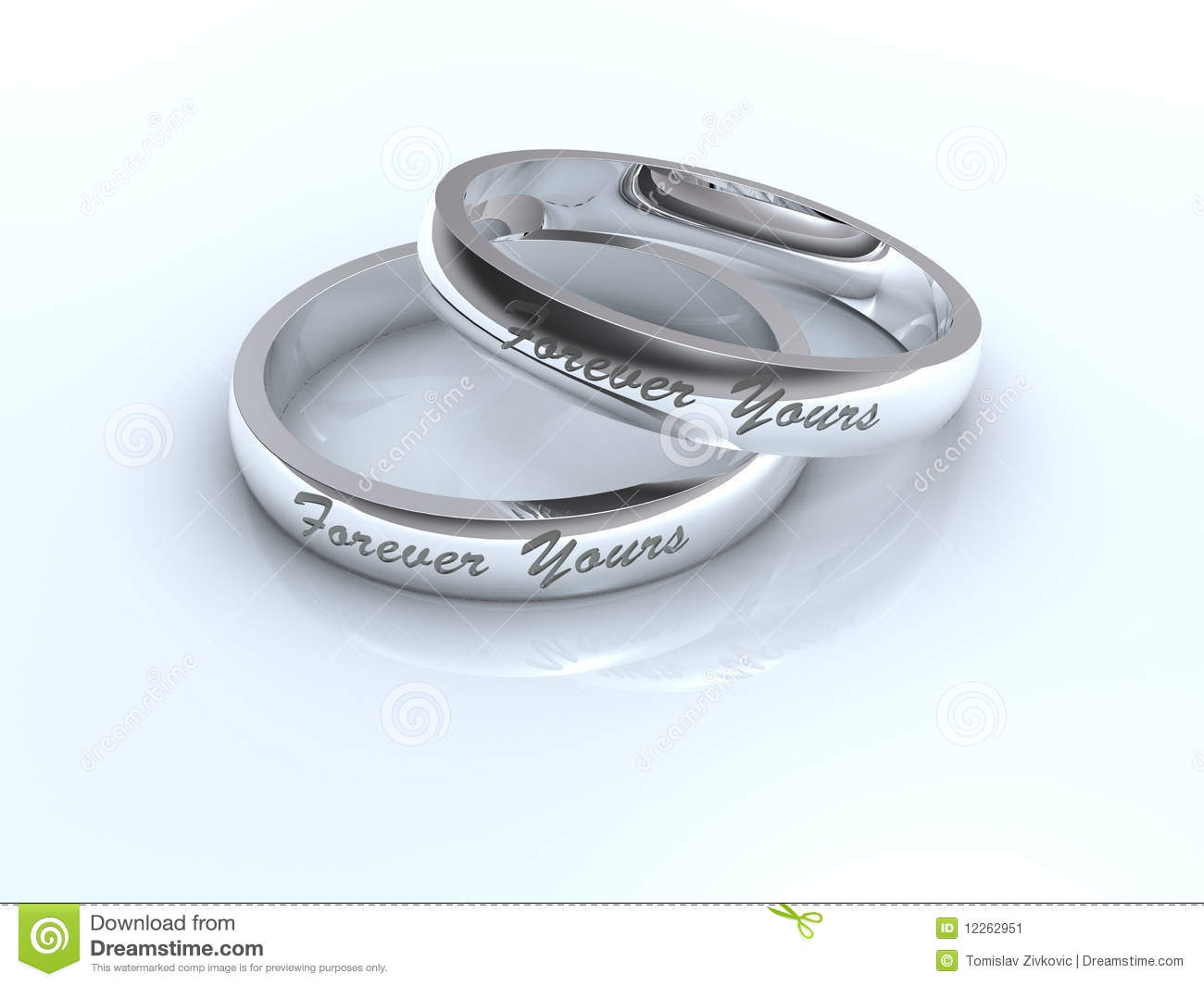 stock image silver wedding rings image silver wedding rings Silver wedding rings