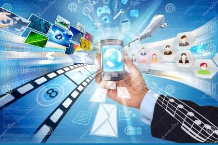 smartphone pour le partage de multimdia 23343782