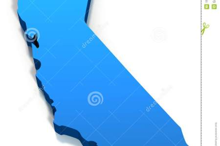 united states california map outline royalty free stock