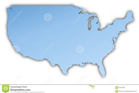 united states map royalty free stock images image 6531239