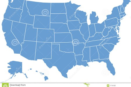 united states map royalty free stock image image 7719126
