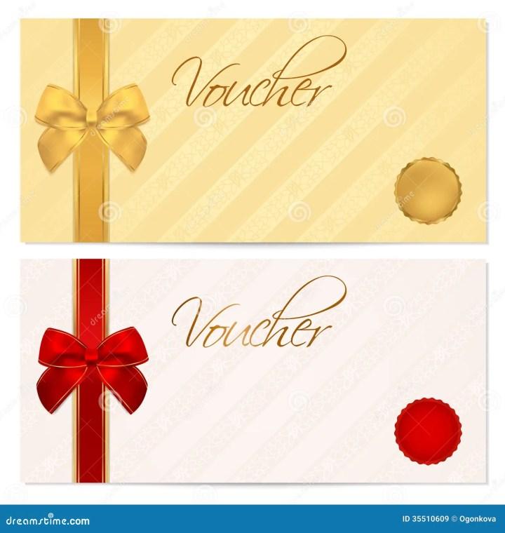 Voucher Design Voucher Gift Certificate Coupon Template With – Voucher Sample Design