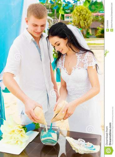 the rising popularity of a sand ceremony wedding sand ceremony