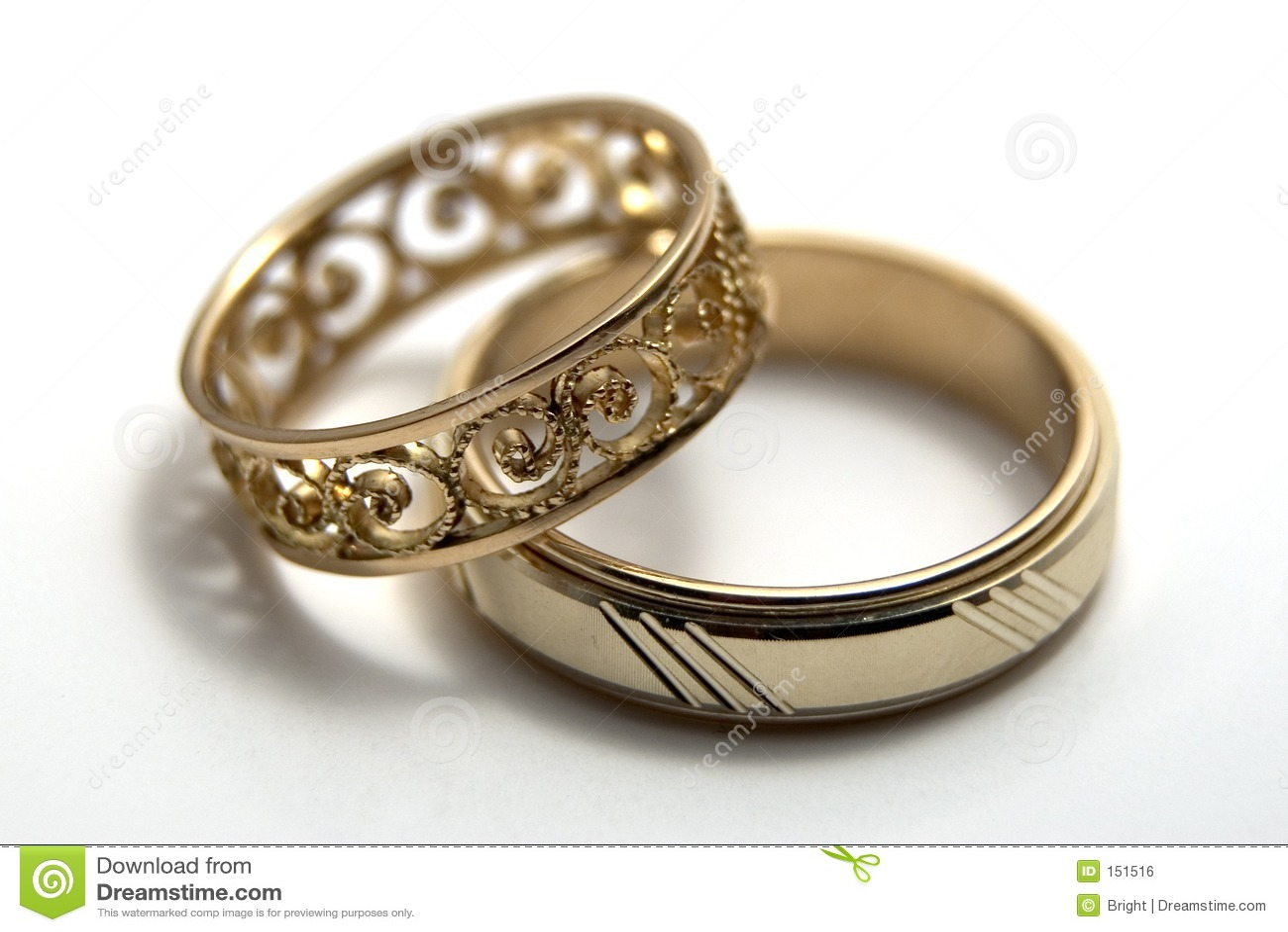 wedding rings pictures of wedding rings Wedding rings Royalty Free Stock Image