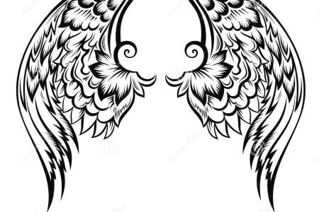 wings tatoo design 25881577
