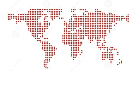 Map dot com world dot map world map dots vector 2675245 gumiabroncs Image collections